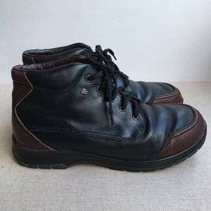 Finn Comfort Men US 9 Leather Winter Lined Boots